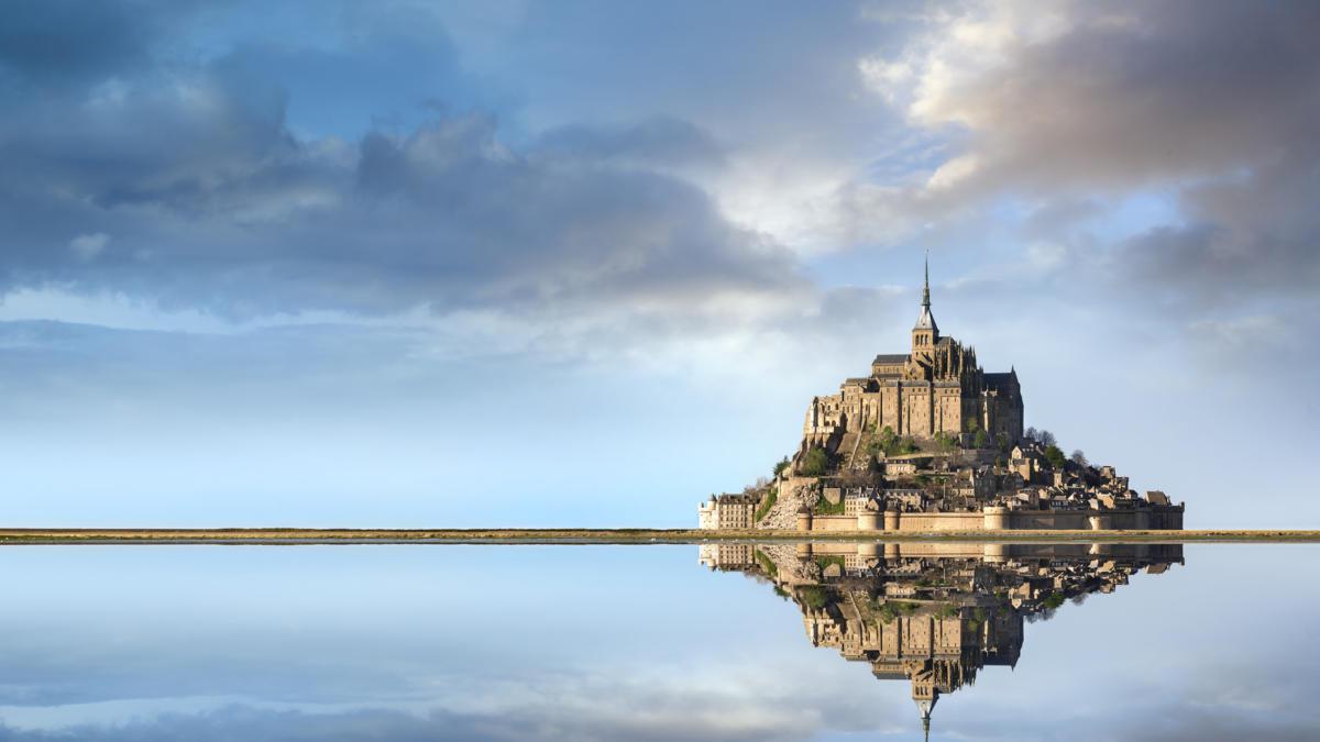 Viajamos al Mont Saint-Michel