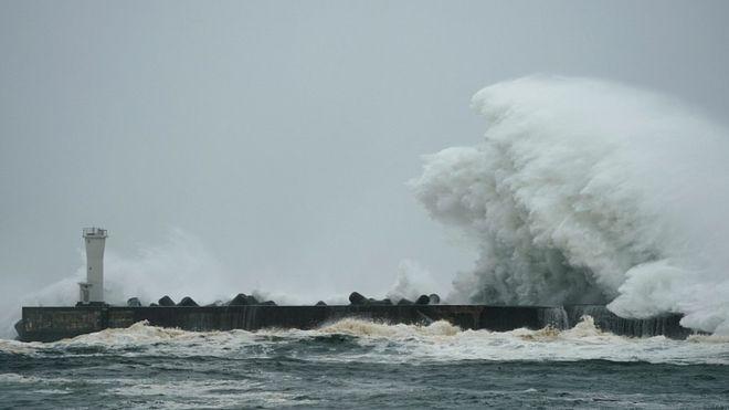 Los tremendos efectos del Tifón Hagibis