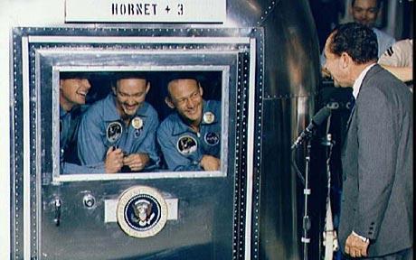 El discurso de Nixon por si fracasaba el viaje a la Luna