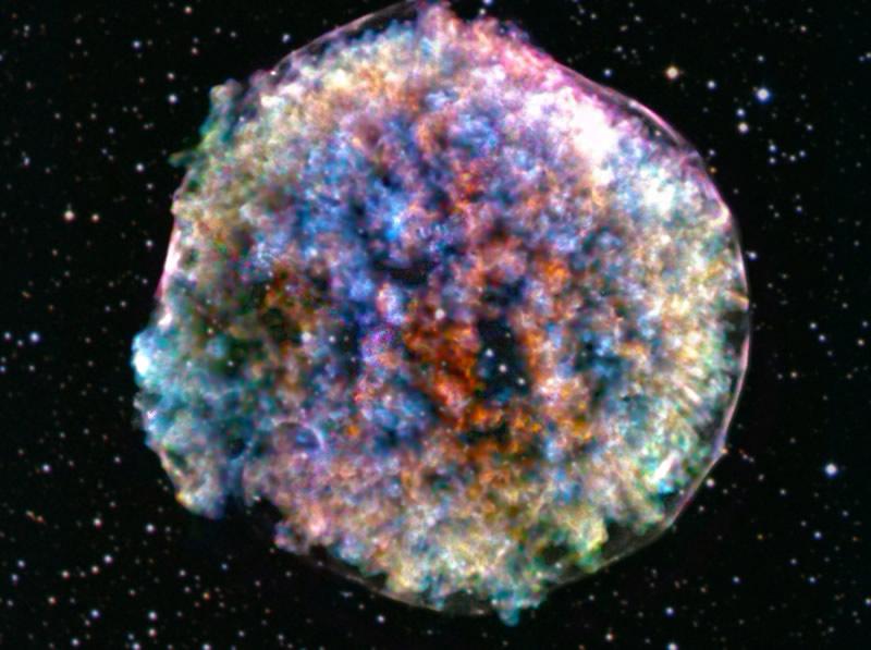 La Supernova de Tycho: La Muerte de una Estrella