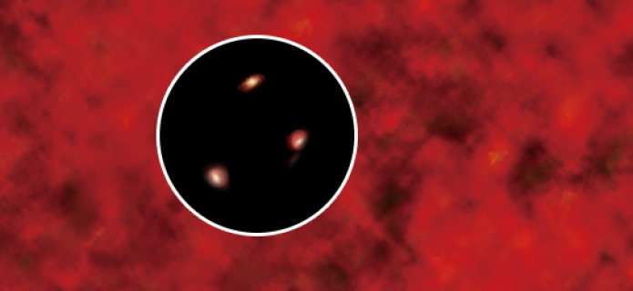 El origen de la misteriosa luz infrarroja presente en el espacio