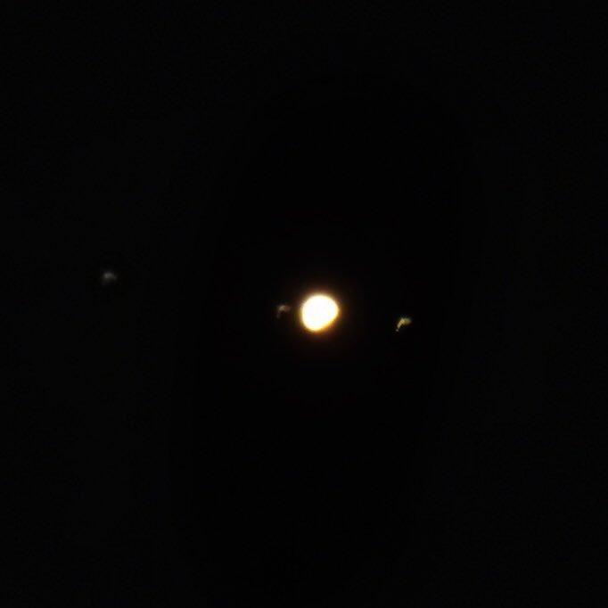 Capturando a Júpiter con sus lunas desde la C. Valenciana