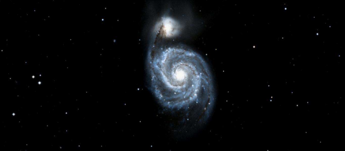 Una bonita imagen de la Galaxia del Remolino