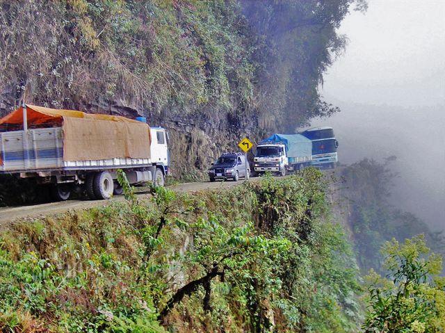 Las 10 rutas más peligrosas del mundo