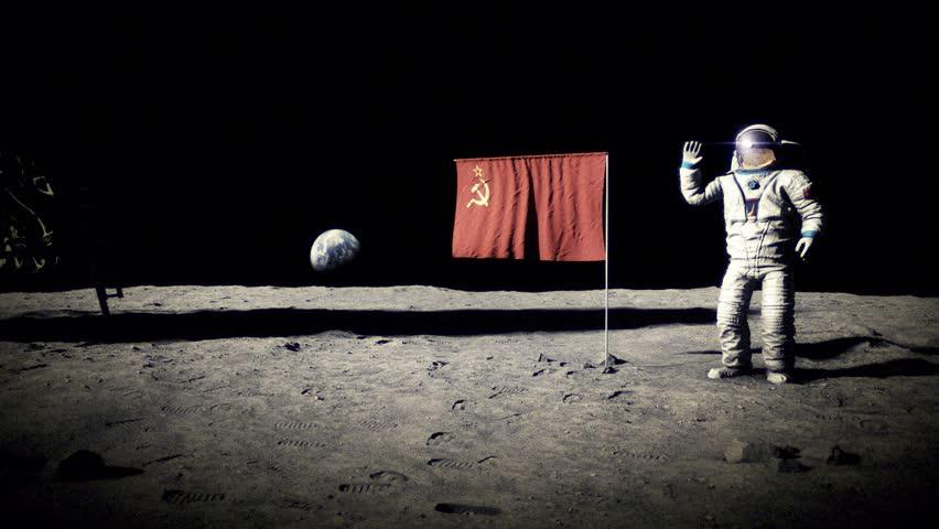 Si el primer país en llegar a la Luna hubiese sido la URSS…