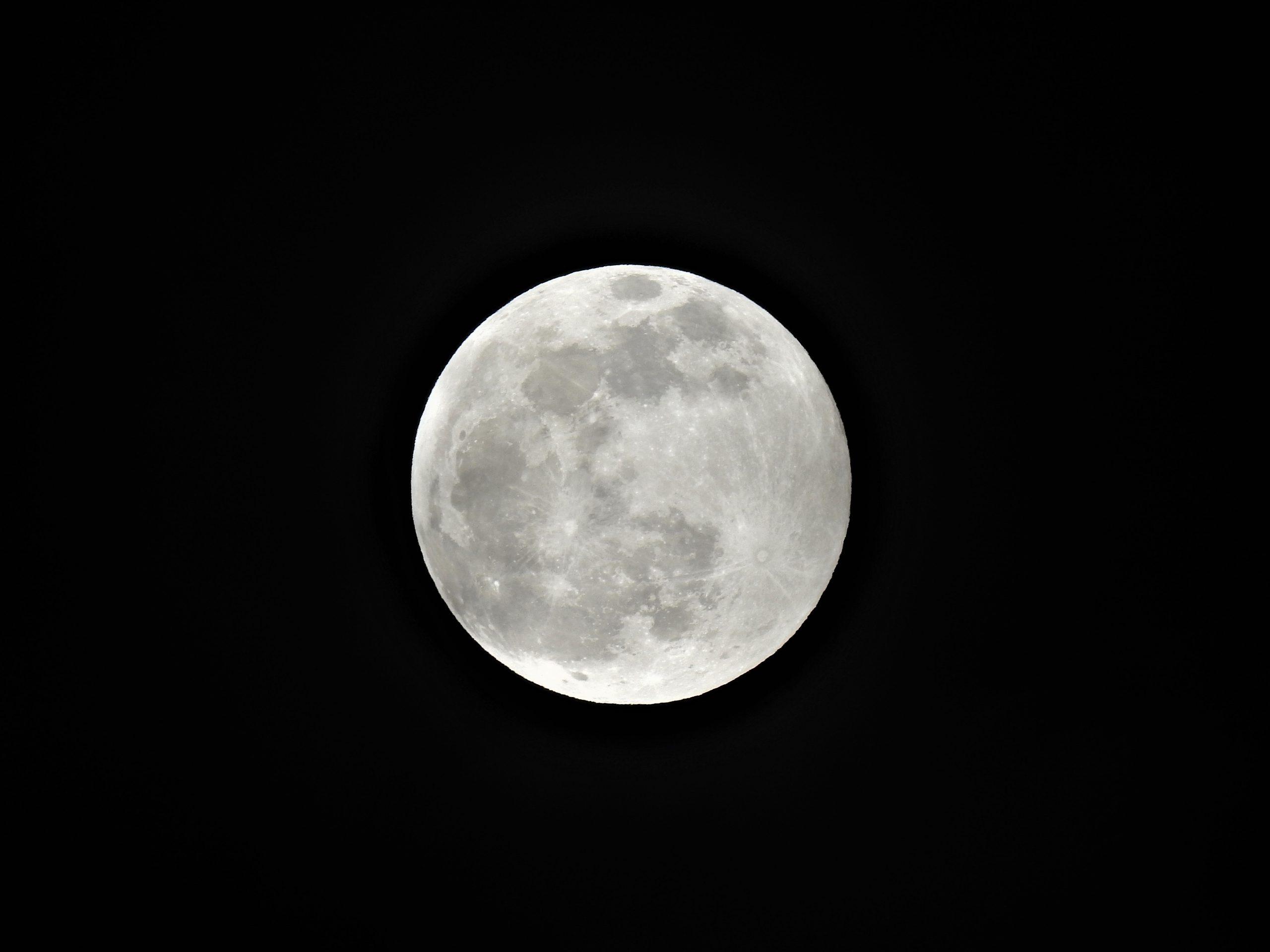 Así se ve el primer eclipse lunar de 2020