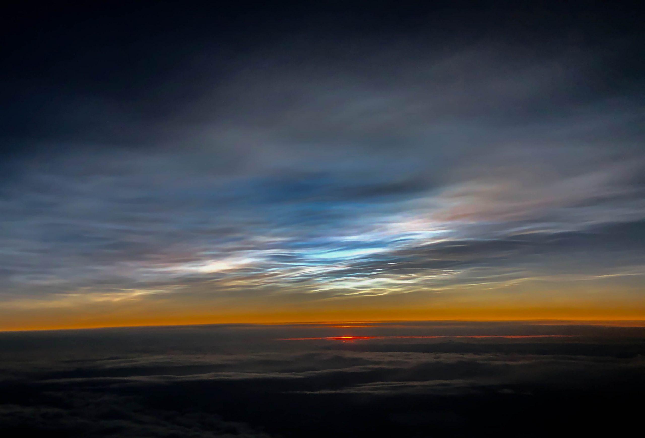 Nubes estratosféricas polares
