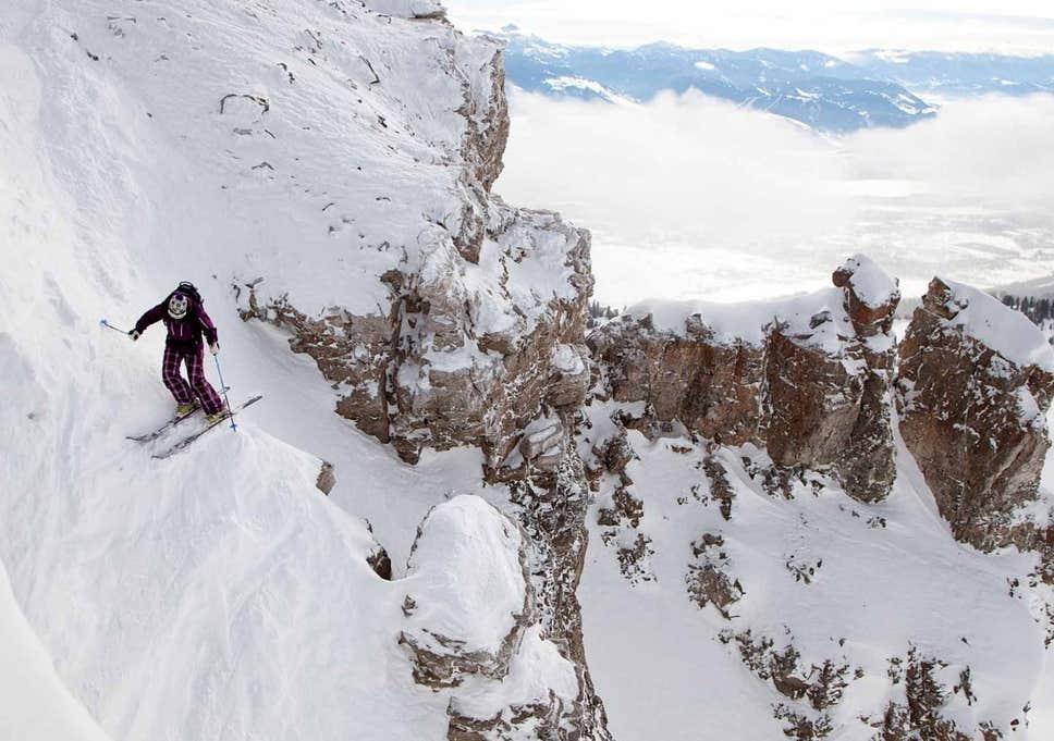 Jackson Hole, la pista de esquí más difícil del mundo, reabre sus puertas