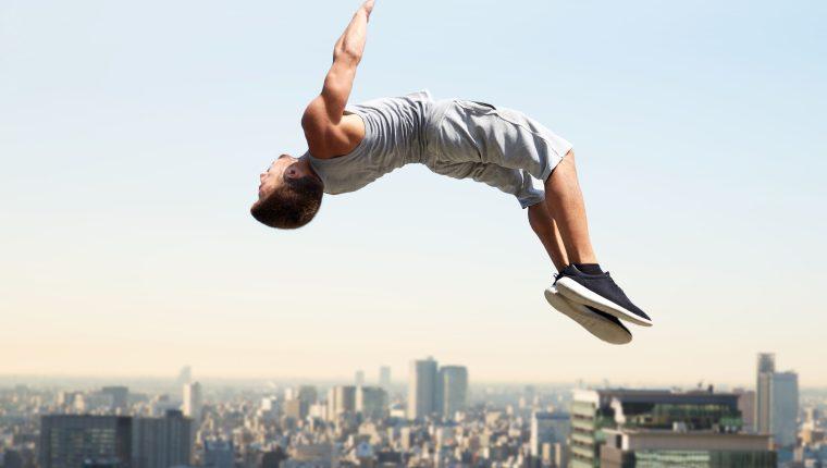 Ciencia y parkour, un deporte en el que equilibrio y habilidad son fundamentales