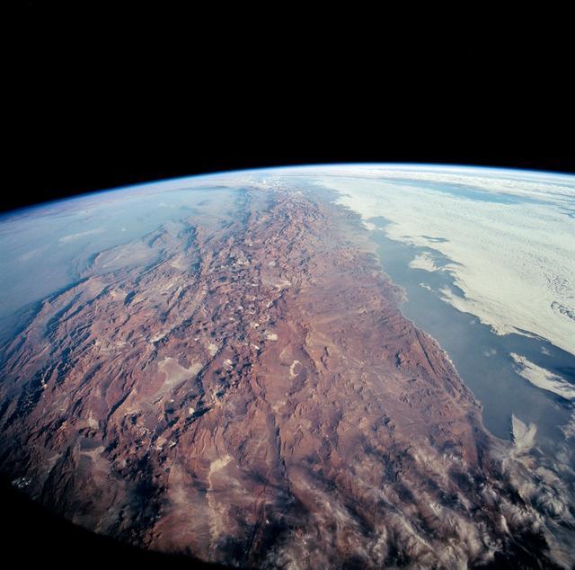 Los Andes y las tierras norteñas de Chile desde el Columbia