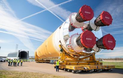 SLS, el cohete más poderoso de la historia de la NASA