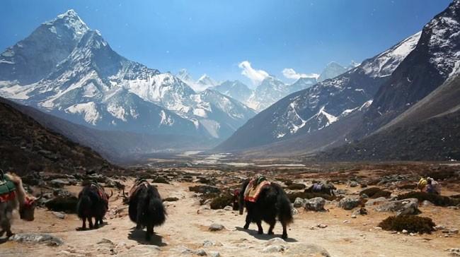 Viajamos desde casa. Visitas virtuales para la cuarentena: Khumbu, el hogar de los sherpa.