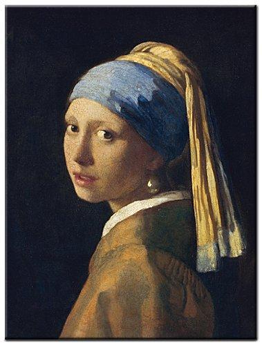 Zoom sobre «La joven de la perla»