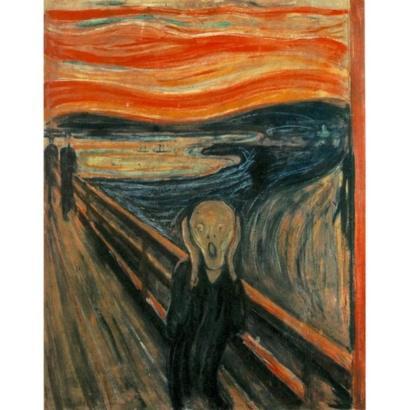 Zoom en «El grito»