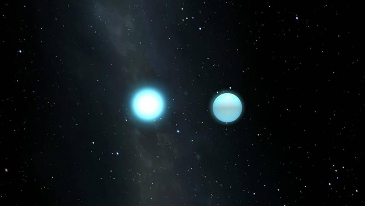 Descubierta la primera enana blanca pulsante en un sistema binario eclipsante