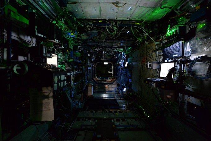 A la Estación Espacial Internacional desde el sofá