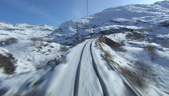 «Bergensbanen» ¿Quieres viajar en tren sin salir de tu casa?