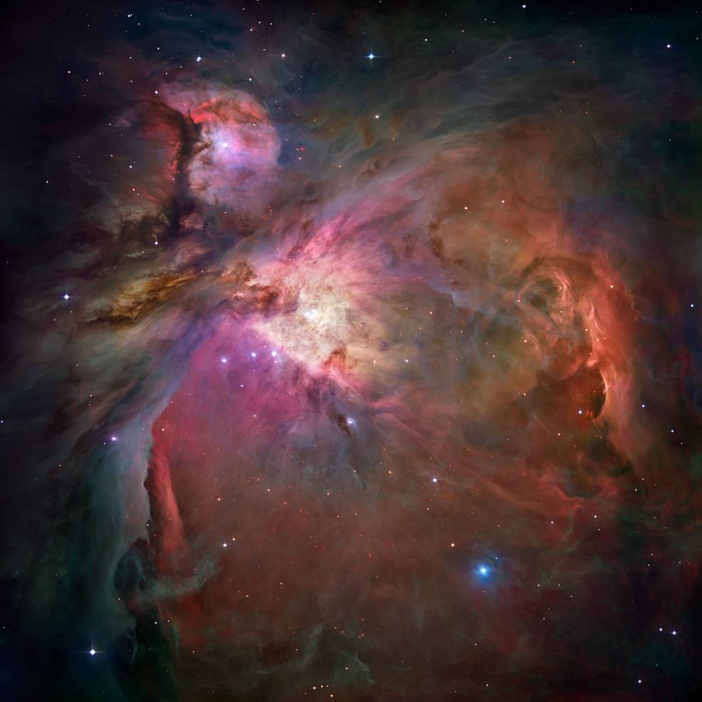Orión 360º Un viaje virtual a través de la Nebulosa de Orión