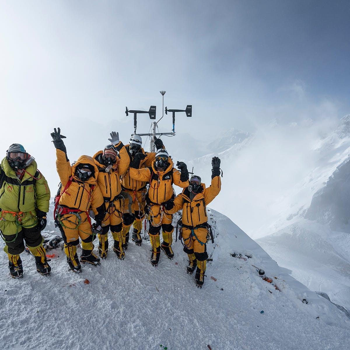 Everest: Viajé a la «zona de la muerte» para instalar la estación meteorológica más alta del mundo