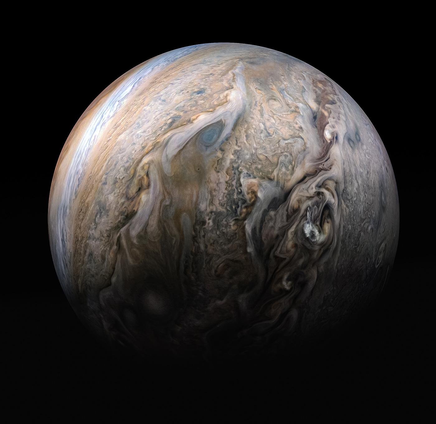 NASA nos regala 30 nuevas imágenes de Júpiter