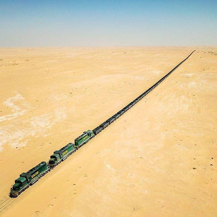 Este es el tren más largo del mundo