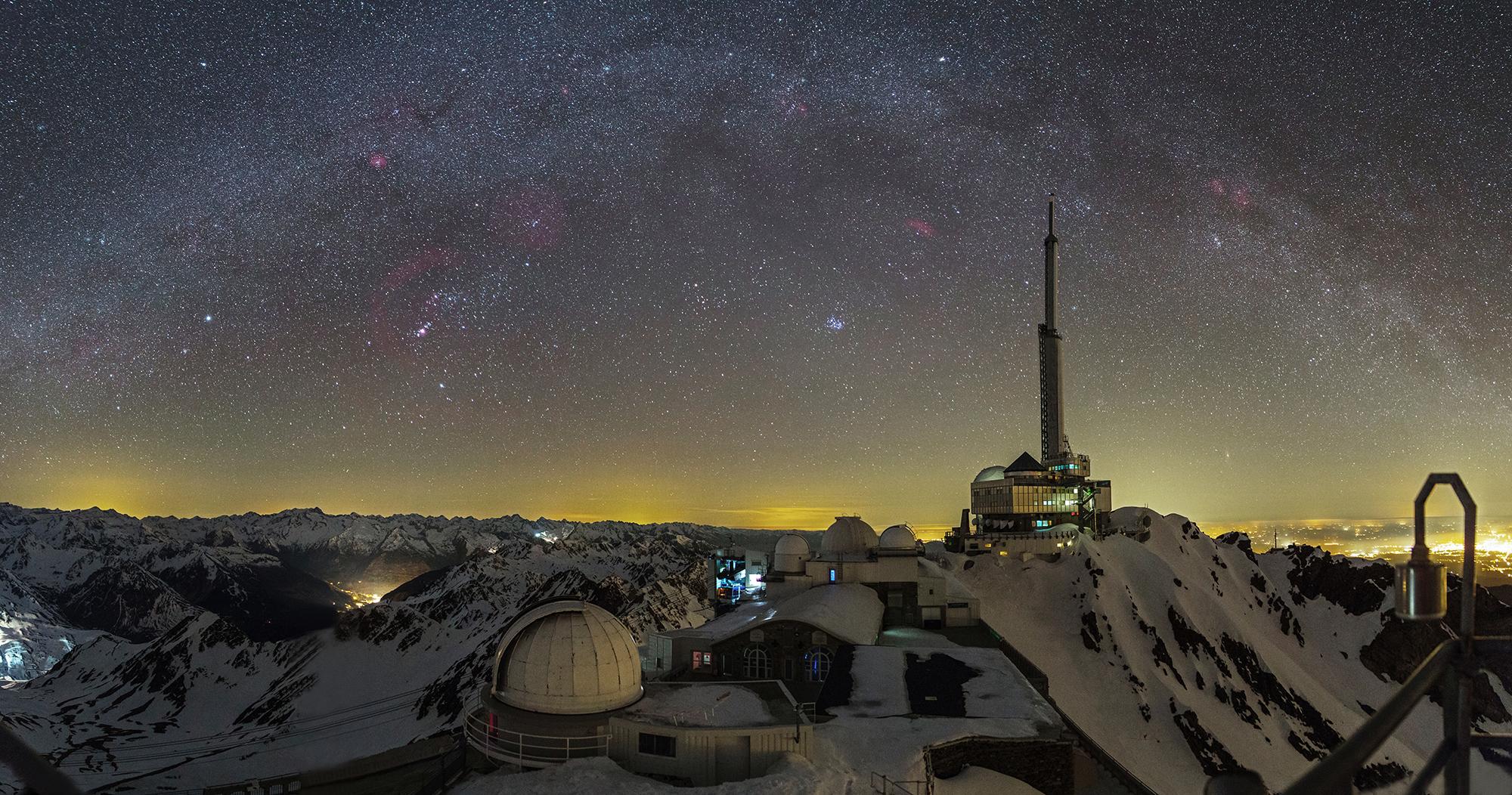 Espectáculo panorámico desde Pic du Midi