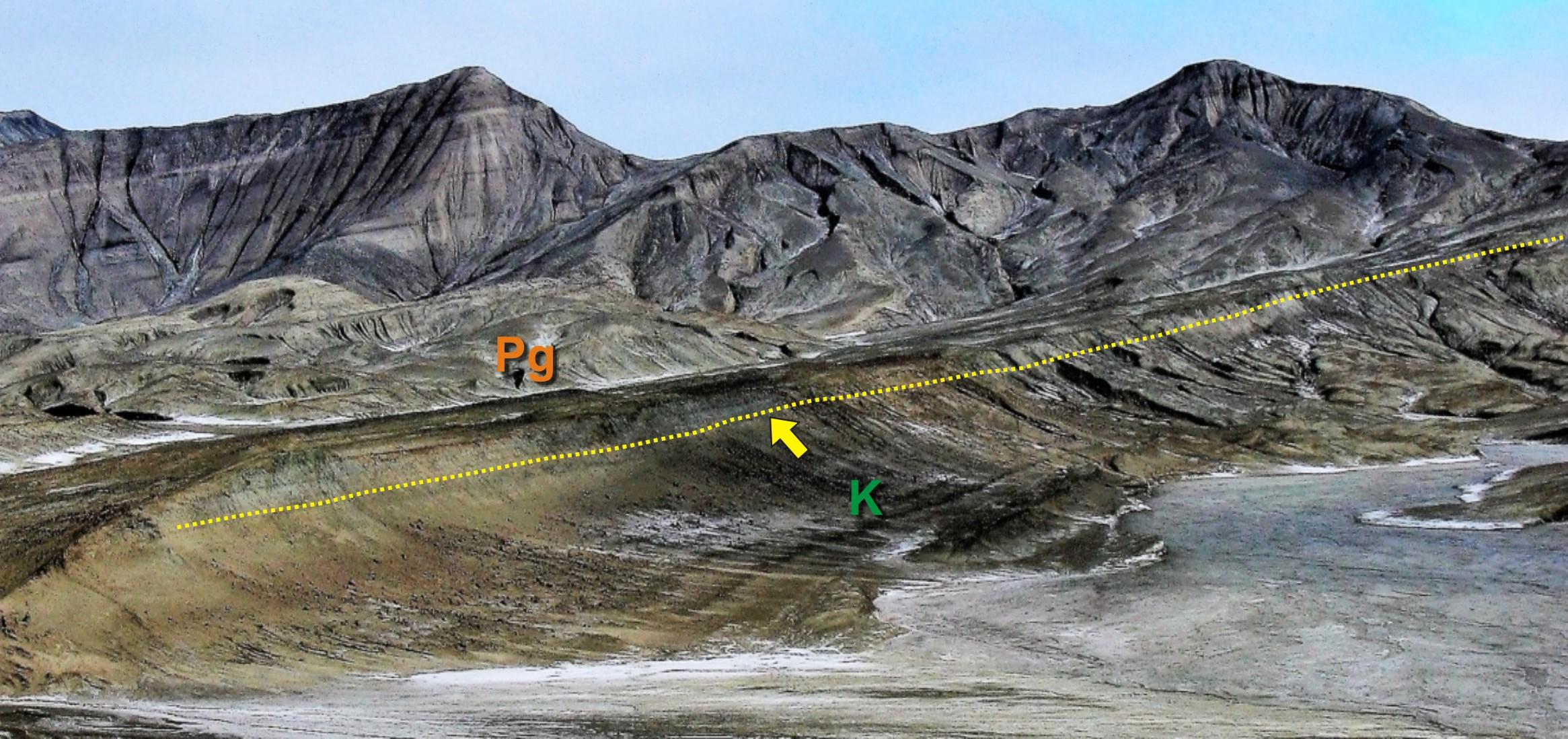 Cartografiados por primera vez en la Antártida indicios del meteorito que acabó con los dinosaurios