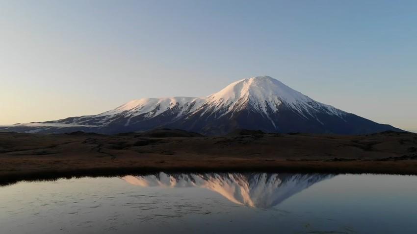 Mágicas imágenes de Kamchatka a vista de pájaro y en 4K