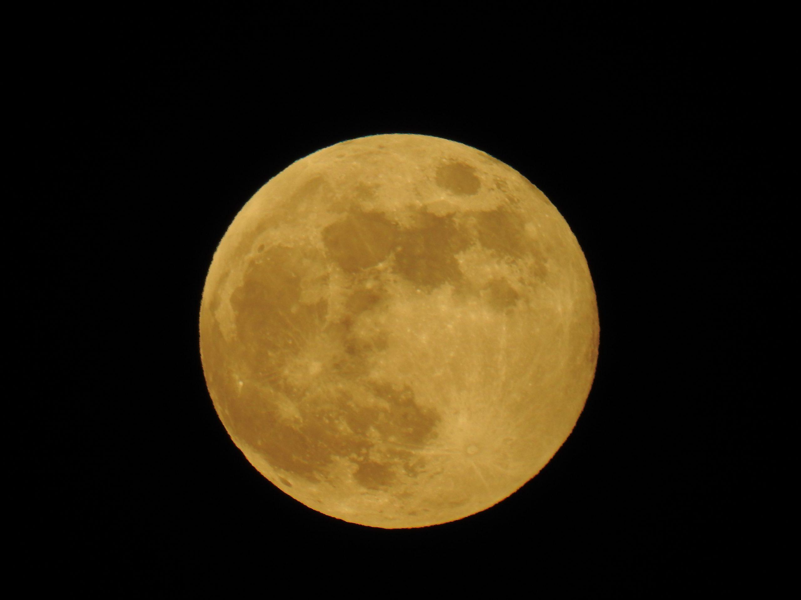 Luna de Fresa. Eclipse penumbral en directo