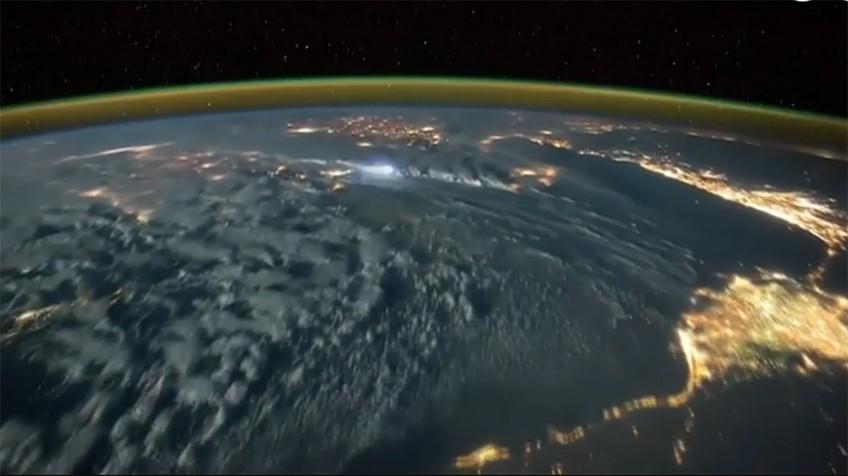Así se ven las tormentas eléctricas desde el espacio