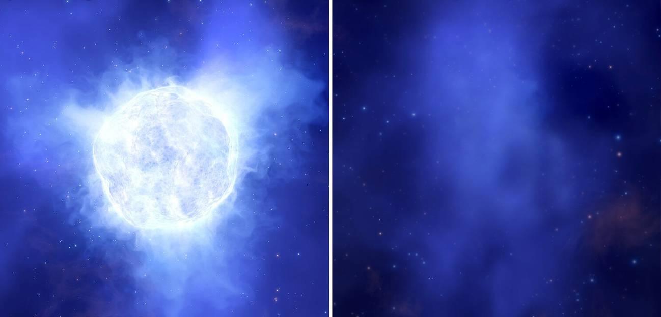 ¿Cómo ha podido desaparecer esta estrella?