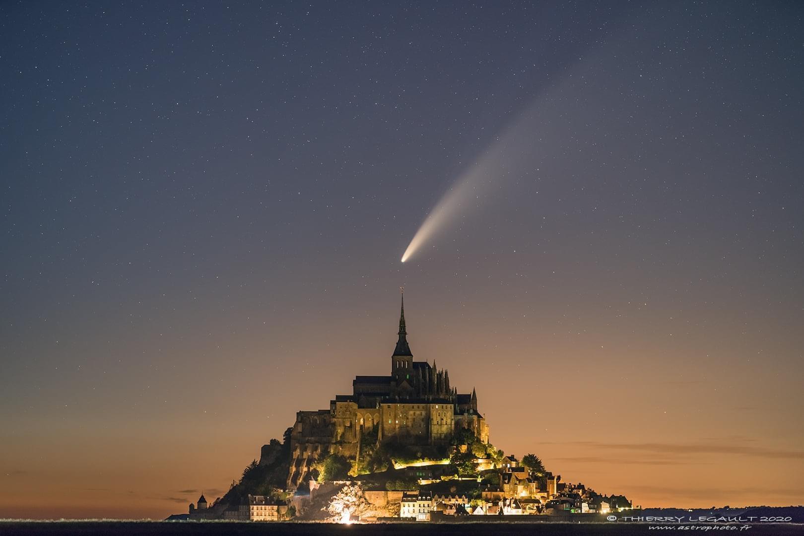 Las mejores fotografías del cometa Neowise