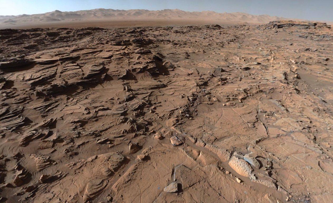 NASA muestra nuevas imágenes de Marte en alta resolución