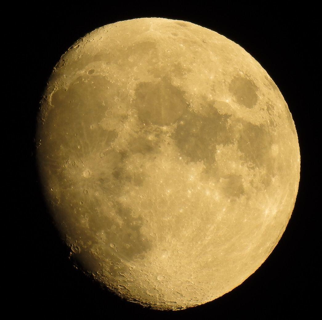 Barrido lunar: así está la Luna hoy