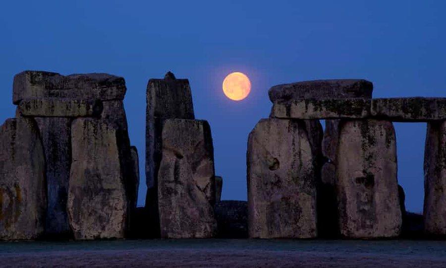 Las mejores imágenes de la Luna Llena del Maíz