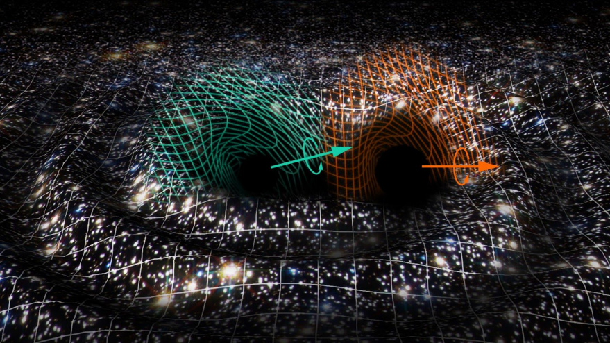 Detectan una fusión de dos agujeros negros para la que no hay explicación