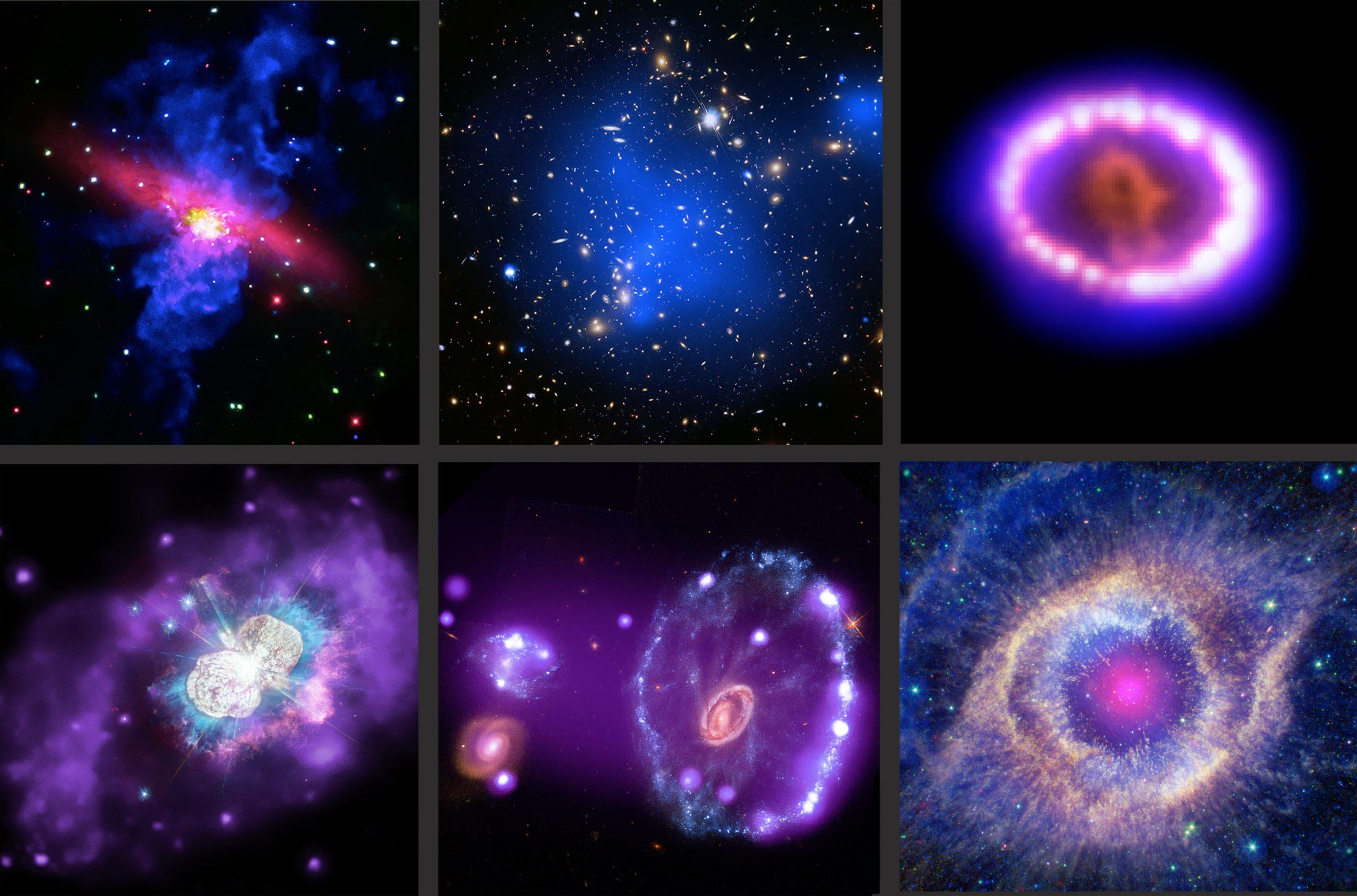 Chandra nos enseña los secretos del cosmos más allá de la luz visible