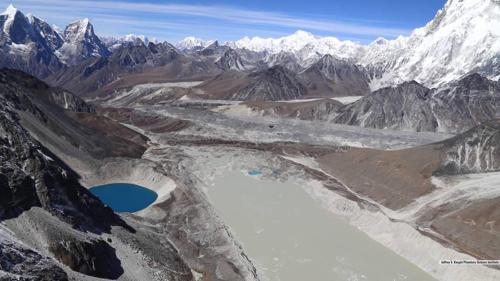 Usando 250 mil imágenes NASA descubren el drástico crecimiento de los lagos glaciales