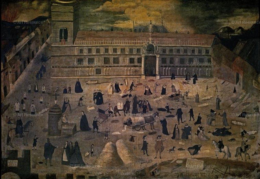 El deber o la vida: médicos medievales que huían de las epidemias