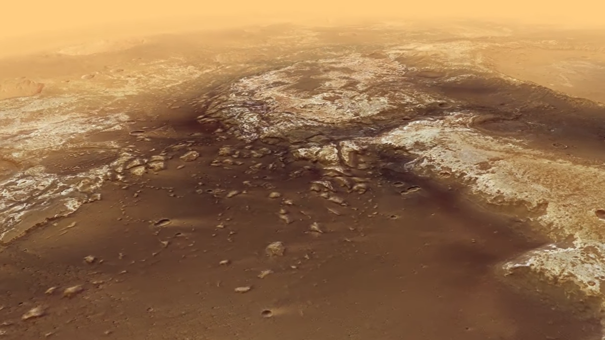 Alucinante vuelo sobre Marte en dos minutos