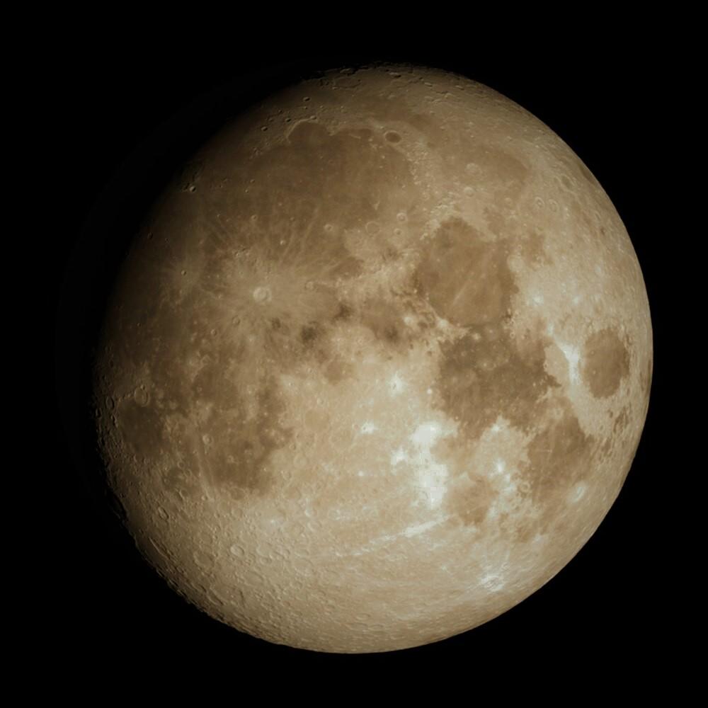 La Luna hoy: Zoom sobre la Luna