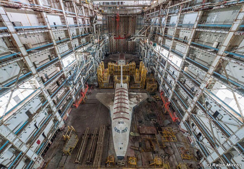 cosmódromo abandonado