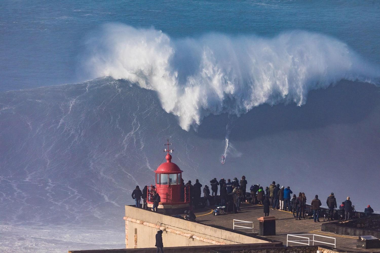 Nazaré en 4K: nuevo tributo a la ola más grande del mundo