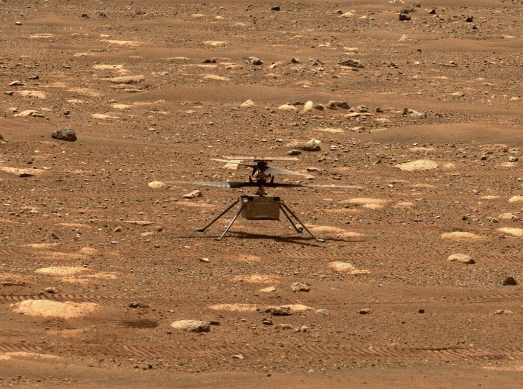 Ingenuity en Marte